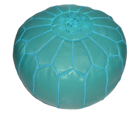 Moroccan Contemporary Leather Ottoman $144.99 from Overstock.com. I have been trying to find a cheaper version of this ottoman forever, but it just hasn't been found... yet. So this one will definitely have to be a SPLURGE