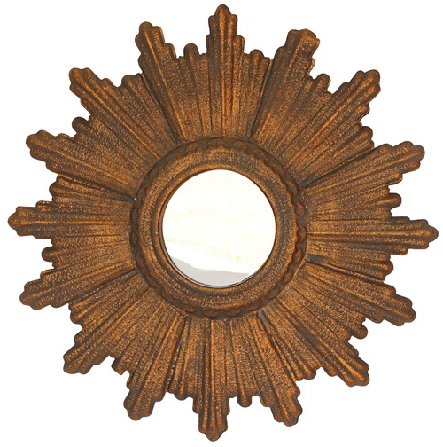 Ah the Sunburst Mirror. I've really been trying to find one of these in yard sales for awhile now. This one is the White x White Calais Mirror available at Wayfair.com for only $51!