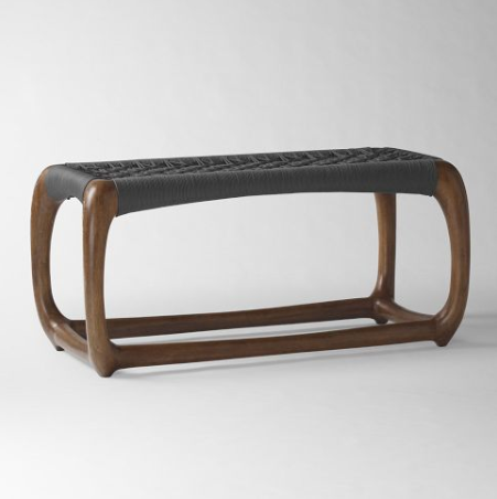SPEND: John Vogel Bench in Charcol from West Elm for $399