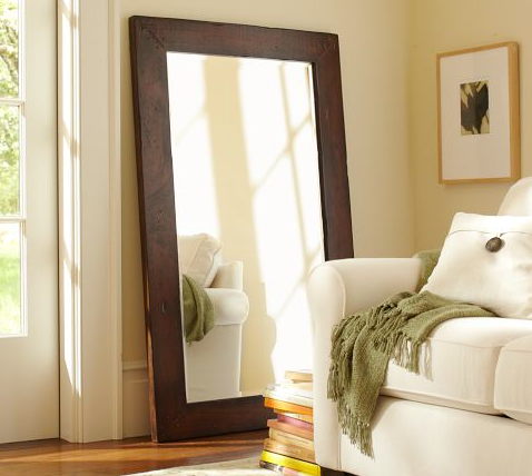 SPEND: Benchwright Floor Mirror from Pottery Barn for $499
