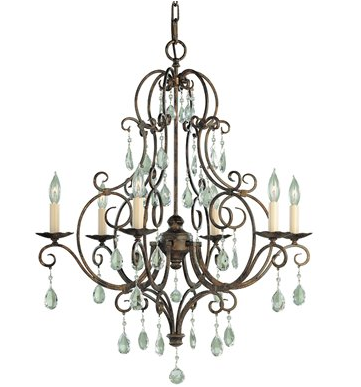 The Murray Feiss 6 Light Chateau Chandelier for $599 from Lighting Universe.