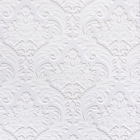Brewster Wallcovering Large-Scale Damask Wallpaper from Lowes (again the price was unavailable but I would cautiously assume it is similar to other Brewster Wallpaper prices)