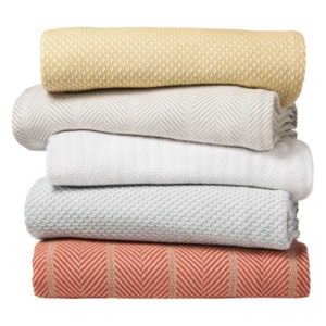 Featured in my FIRST EVER post on this blog- this is the Threshold Organic Blanket selection at Target.