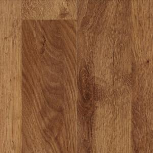 If you're interested try this Mohawk Antique Bark Oak Laminate Flooring for $2.95 per square foot at Home Depot! Would match the inspiration image pretty well!