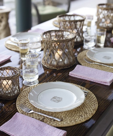 simple placemats like these can be found at any home good store.. and they are usually on sale!