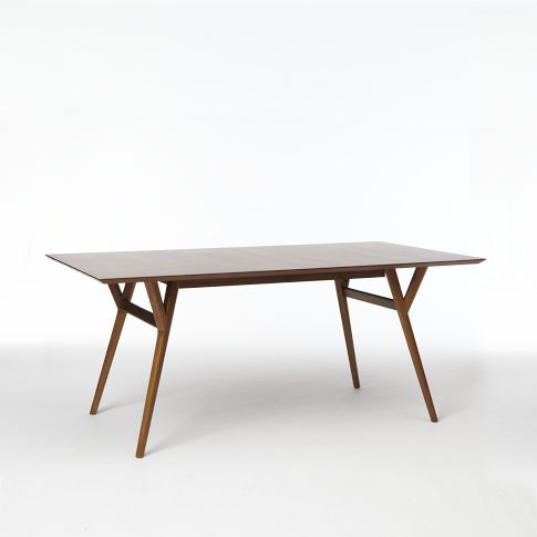 Tying it all together with the Parker Expandable Dining Table from West Elm for $699