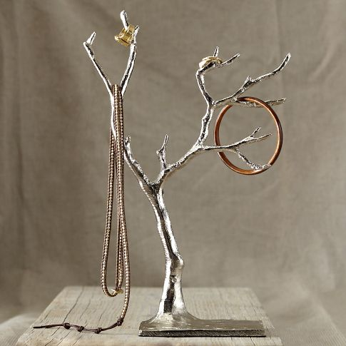 Cast Metal Jewelry Tree from West Elm for $29