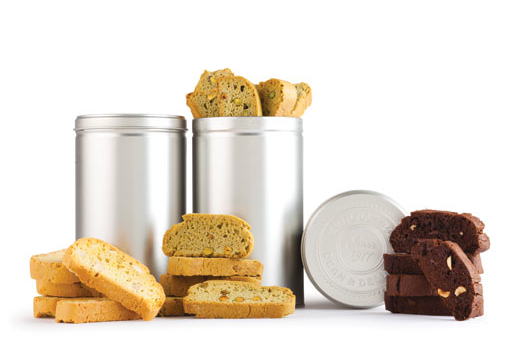 the Biscotti Trio from Dean and Deluca (YUM) for $55