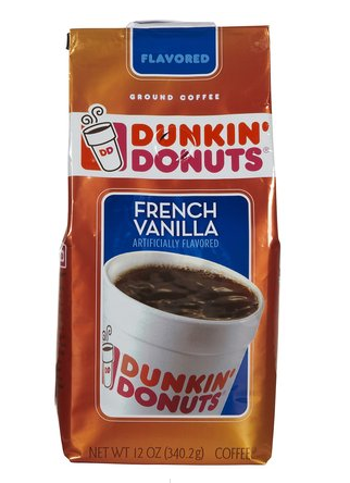 My ALL TIME favorite flavor of coffee!  Dunkin' Donuts FRENCH VANILLA! yum!