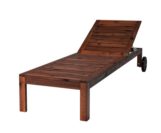 SAVE: this is the APPLARO lounger for only $129 from Ikea. Add a cushion and you are good to go!