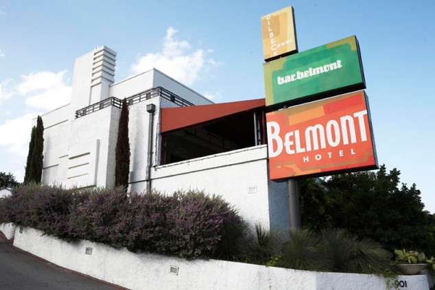 The Belmont Hotel is a little historic boutique hotel. Its been around since the 1940s!