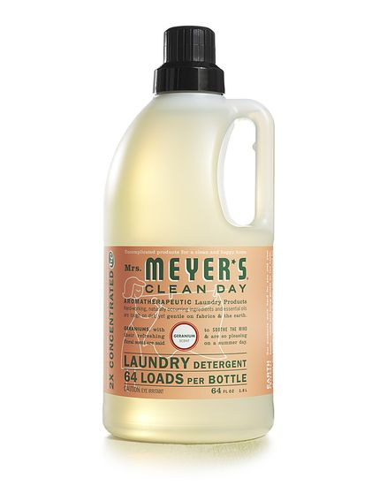 Mrs. Meyers Laundry Detergent, 64 loads for $15.99These are 97% naturally derived! Geranium is my FAVORITE scent of hers!