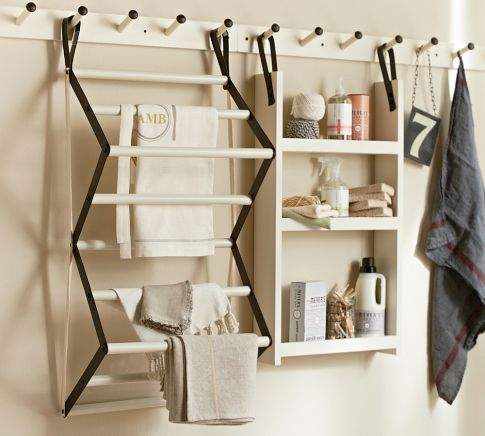 Gabrielle Laundry System, pieces of this are anywhere from $24-$99 at Pottery Barn