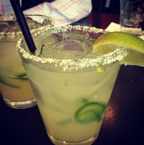 THE Jalapeño Margarita!! Its not spicy and you don't feel the heat of the jalapeño only the flavor! AMAZING!