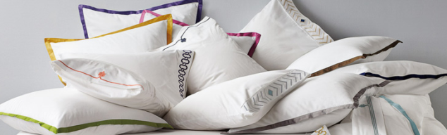 And of course if you just want a touch of piping you can always go with Pillow Shams from Serena & Lily at $78 each