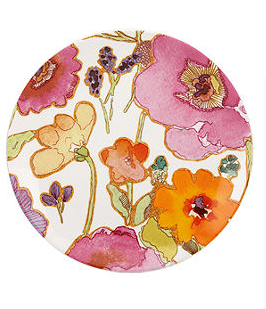 If you're looking for an Anthropologie-esque floral here is one from the Lenox Dinnerware Floral Fusion Aqua Collection at Macy's for only $12.95