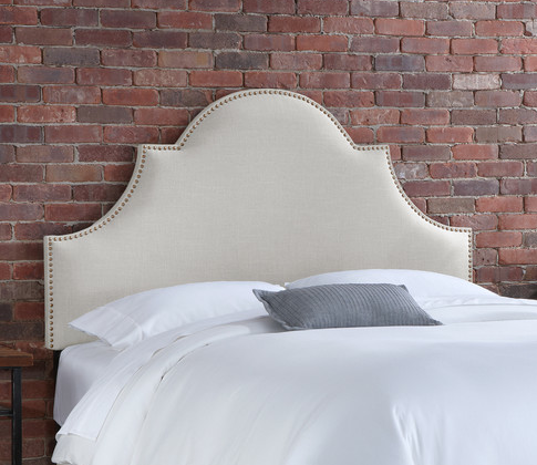 Skyline Furniture Linen High Arch Panel Headboard from Wayfair.com for only $345
