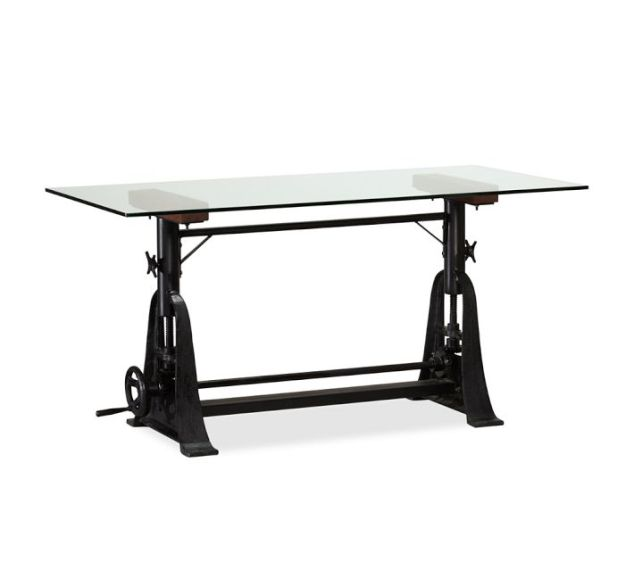 This is the Thomas Industrial Desk from Pottery Barn for $1,504