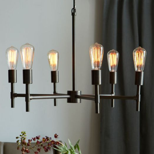 Industrial Chandelier from West Elm for $249