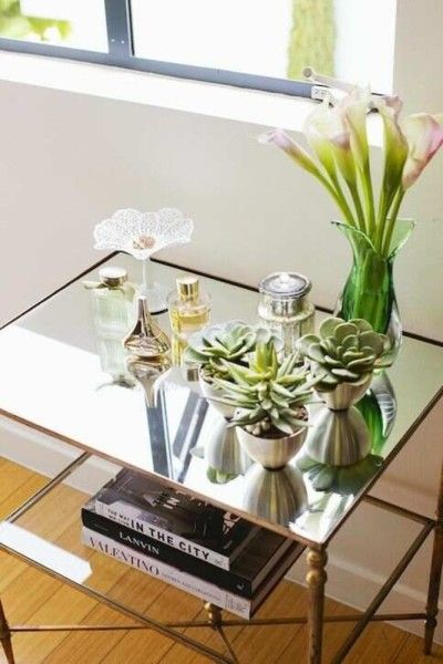 cute coffee table plants!