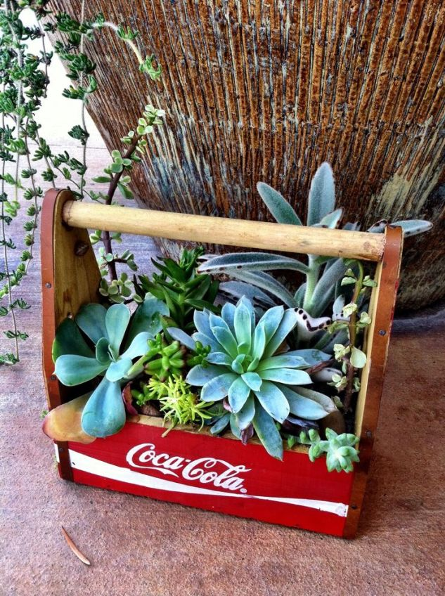 Perfect for vintage containers that you might find!