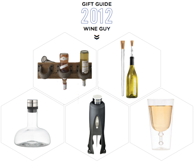 They even have great gift guides for all types of guys! Great resource for me... I will definitely be using this for my Wine Loving Guy!