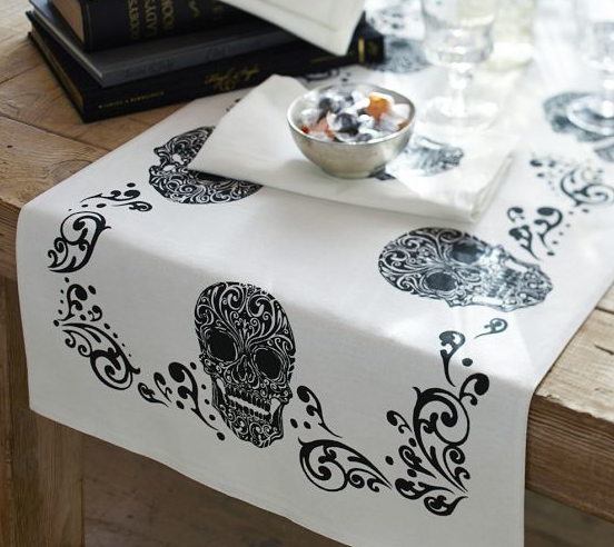 Day of the Dead Table Runner from Pottery Barn! Originally $69 now only $16.99!!