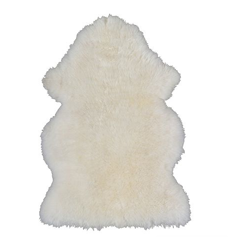 The RENS Sheepskin rug from Ikea is only $29.99!