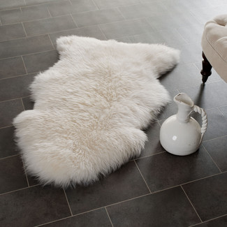 Safavieh Sheepskin White Rug from Wayfair.com for around $170
