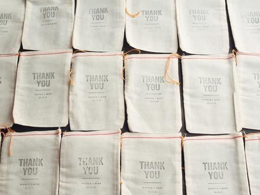 DO: Make it simple! They are here celebrating you so a small token is just fine! Fill these amazing Thank You bags with candy for a simple Thank You!