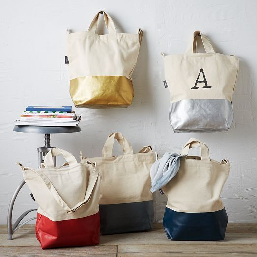 Here is there Baggu Dipped Tote at West Elm for only $45