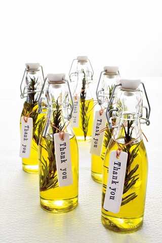 DO: Tie the gift to your wedding, your love, or even your honeymoon! Olive Oil for Italian families or even a honeymoon in Italy!