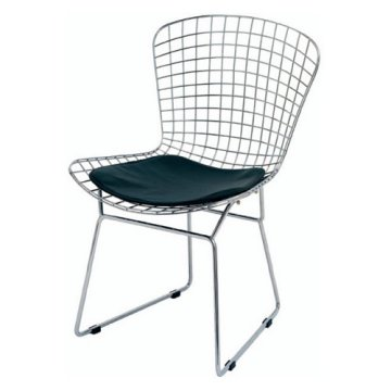 This Wire Side Chair in Black is only $129 from Hayneedle.com