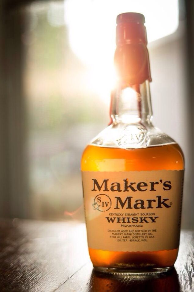 Of course the best part! Maker's Mark! The better the whiskey the better the hot toddy!