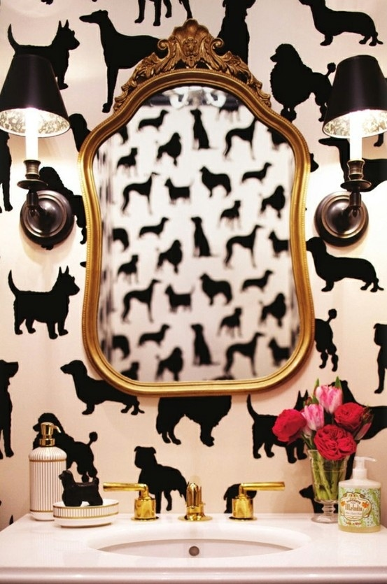 This has to be my favorite!! What a great, quirky little room!