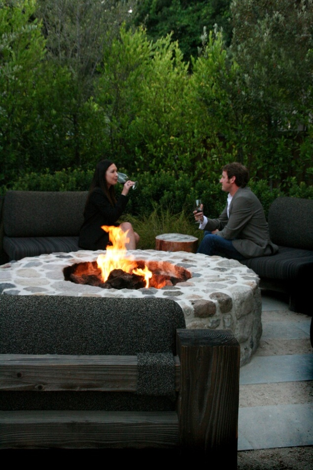 SEE! This is exactly how I picture David and I on our patio. Though ours is definitely not this big!