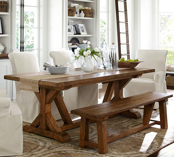 This is the Wells Extending Dining Room Table from Pottery Barn for $1699