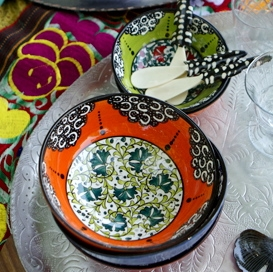 Or these Hand Painted Ceramic Bowls from Turkey for only $25