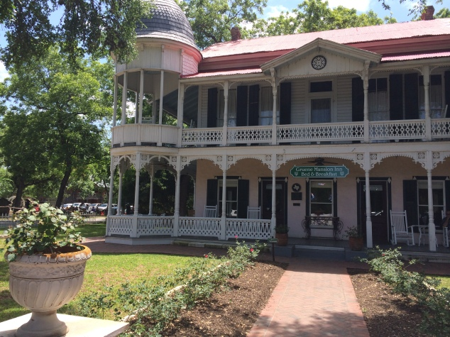 The amazing Gruene Mansion Inn. The PERFECT bed and breakfast for that amazing weekend