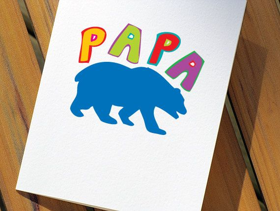 I love this! Pappa Bear!