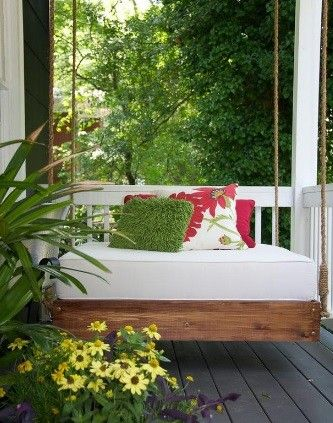 A smaller version! Perfect for those petite front porches!
