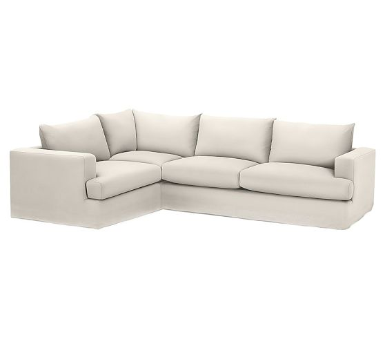 If you want just a classic looking sectional to go with any interior you might want to go with the Hampton Sectional from Pottery Barn. Clean, classic and comes in a lot of neutral colors!