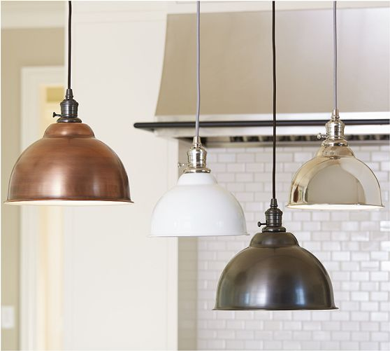 These are a selection of PB Classic Pendants from Pottery Barn ranging from $99-$119 (currently on sale!) I love that unique brass finish!