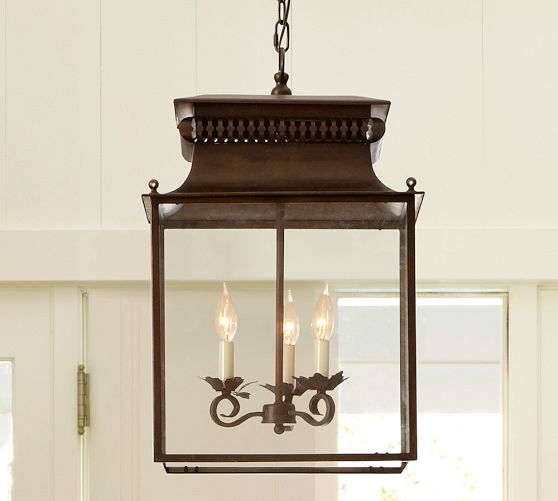 Bolton Indoor/Outdoor Lantern from Pottery Barn