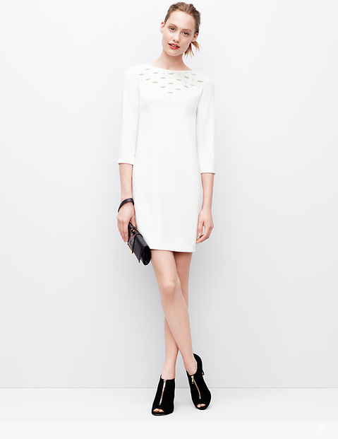 EMBELLISHED STONE DRESS from Ann Taylor for $129.99