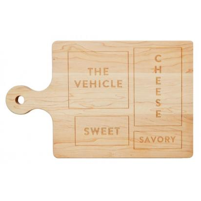 The Hostess Cutting Board for $74