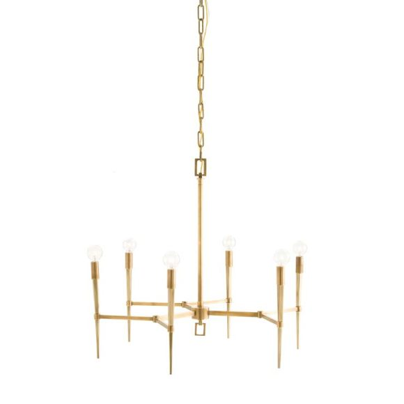 This is the splurge for the room, the AUBURN 6 LIGHT CHANDELIER by Arteriors for $1800