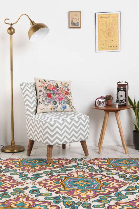 A touch of gold with the STELLA FLOOR LAMP from Urban Outfitters for $129