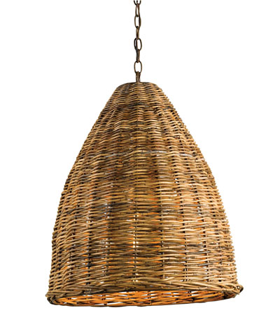 BASKET PENDANT in Natural from Bliss Home and Design for $710