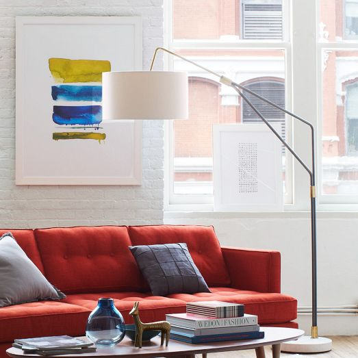 Mid-Century Overarching Floor Lamp (my favorite!!) from West Elm for $699